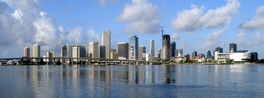 Florida City Skyline